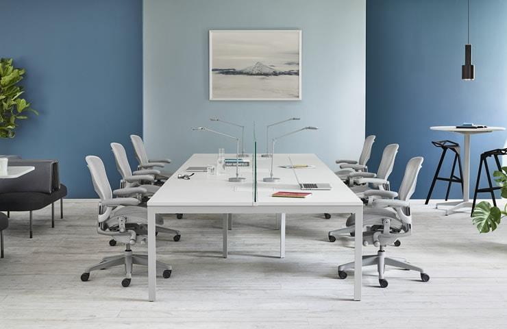 der Aeron Chair als Konferenzstuhl